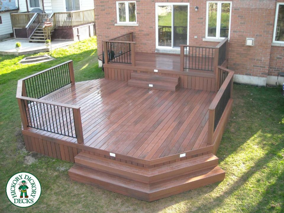 Deck gallery for Fiberon decking cost per square foot