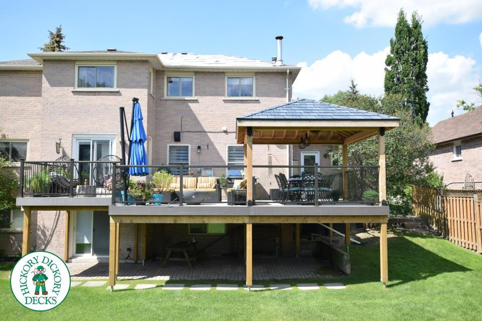 decking roofing with deck timber builders brisbane decks patio