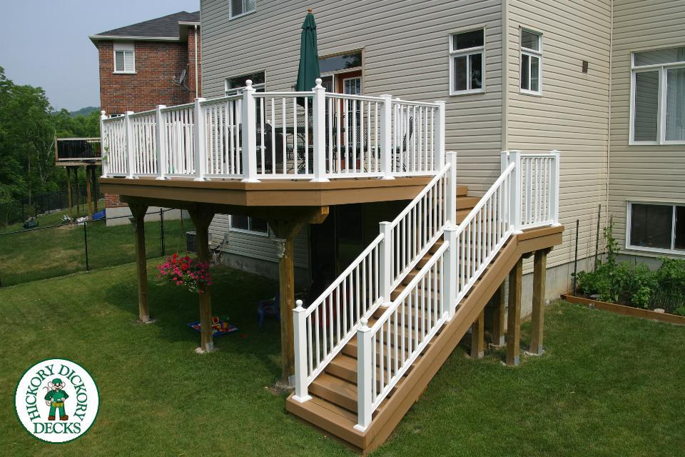 how to build an elevated deck