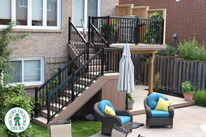 veka deck and stairs