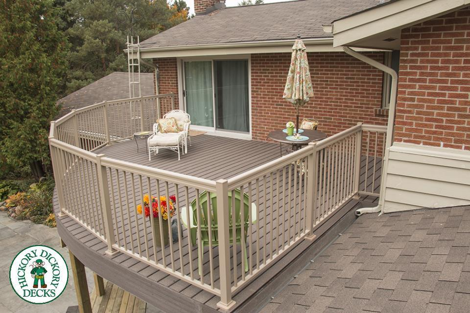 Deck on the roof off master suite