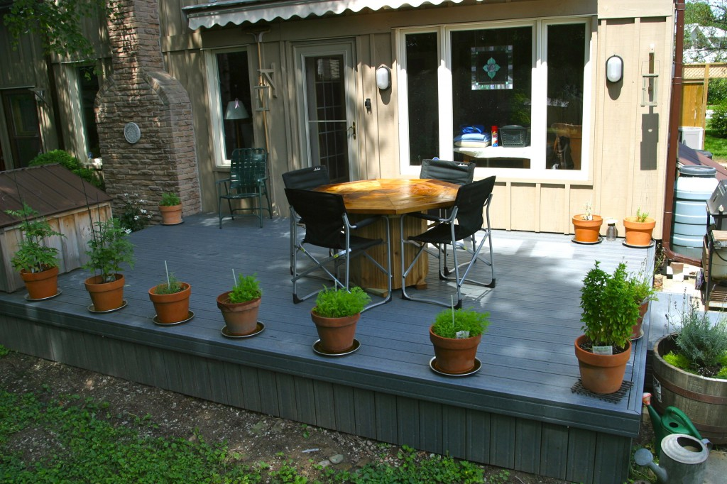 backyard deck revitalization